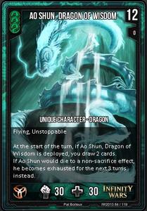 Ao Shun, Dragon of Wisdom