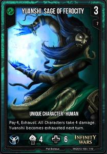 Yuanshi, Sage of Ferocity