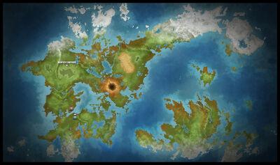 Infinity Wars Map