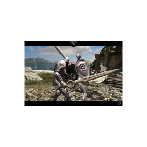 The Cavalier in Infinity Blade II.