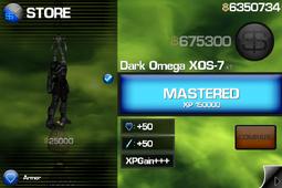 Dark Omega XOS-7 IB1