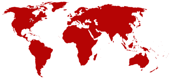 Worldmap red