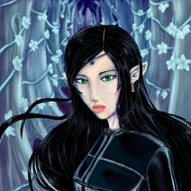 Arya from Eragon by poohp00hbear