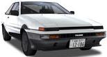 Shinji's Trueno Coupe (Arcade)