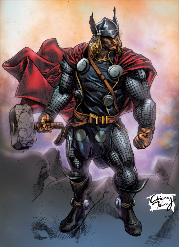 Thor heroes disassembled injustice fanon wiki fandom - Thor art wallpaper ...