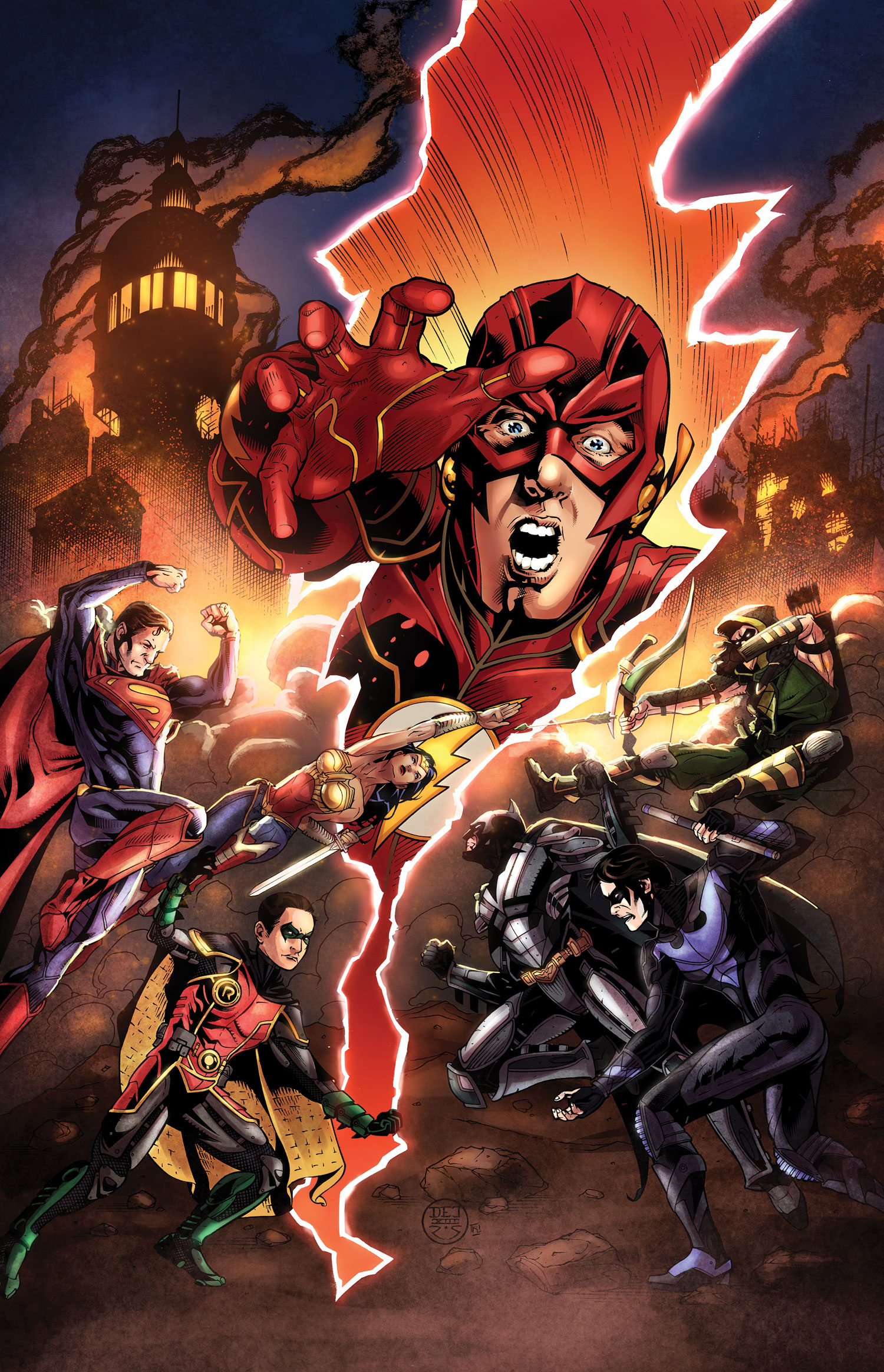 Injustice: Gods Among Us Issue 5 | Injustice:Gods Among Us Wiki | FANDOM powered by Wikia