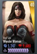 IOS Red Son Wonder Woman
