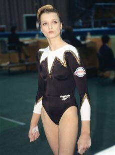 Khorkina at the 1994 world team championships