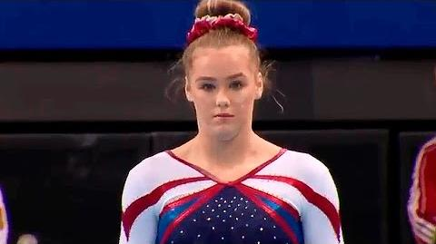 Rebecca Tunney (GBR) UB AA World Cup Stuttgart 2016