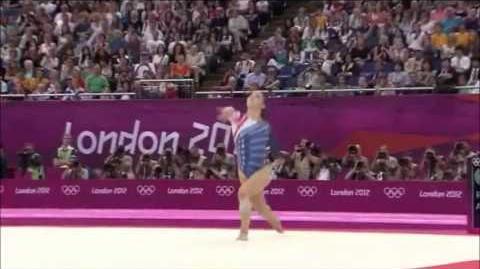 Alexandra Raisman USA EF FX 2012 London Olympic Games