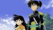 Rin and kohaku