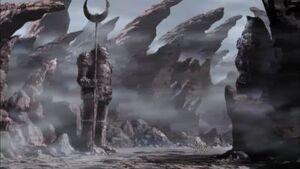 Wolf-demon-graveyard