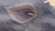 Kyora's Crimson Demon Fan