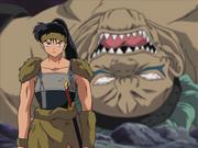 Koga defeats kyokotsu