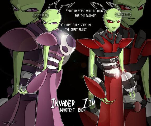 File:Invader Zim Tallests Pwnz by Kru.jpg