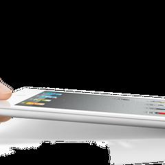 iPad 2 thinness.