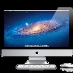 An iMac running Lion