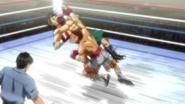 Aoki frog punch