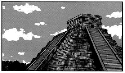 File:Mexico - The Castle of Chichén-Itzá.png