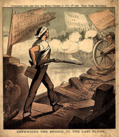 File:1882-07-08 O'Hea Defending the Bridge to the Last Plank.jpg
