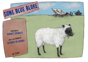 Some blue bloke