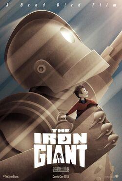 The Iron Giant 2015 Comic Con Poster