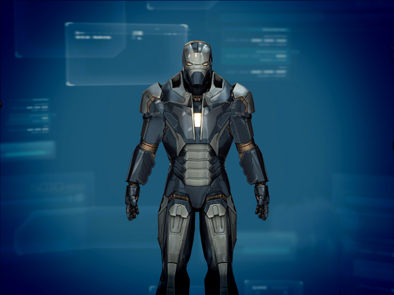 Mark Viii Iron Man 3 Iron Man 3 The Official Game
