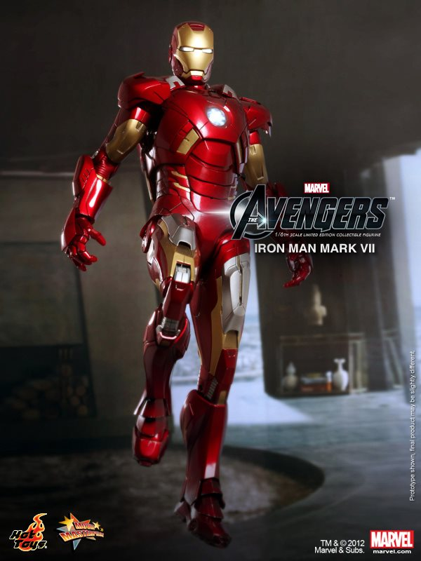 Mark Vii Iron Man 3 Game a Golden Iron Man Mark Vii at