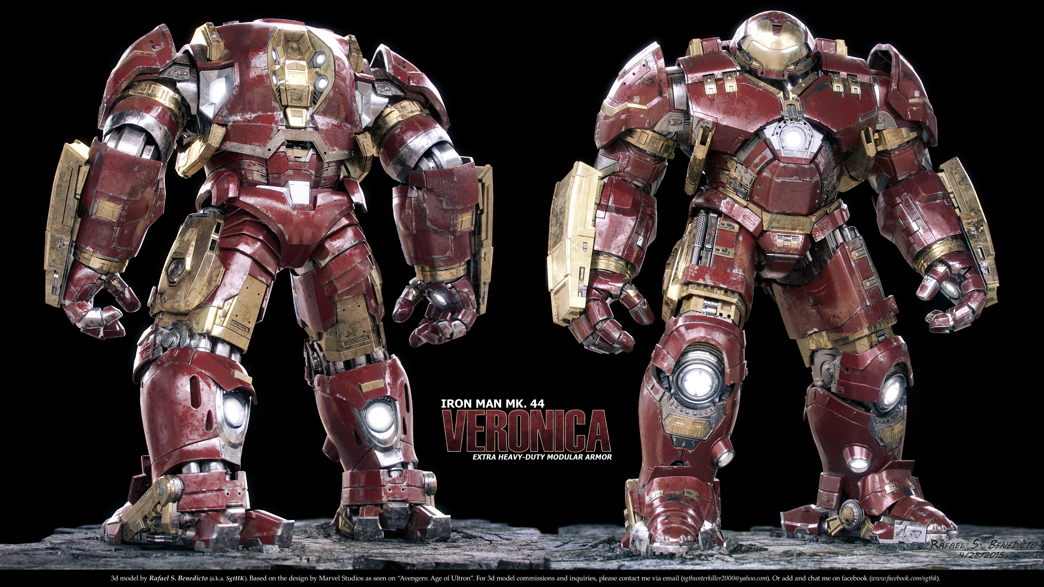 Avengers Age Of Ultron Iron Man Mark 44