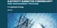 Electricity Subsector Cybersecurity Risk Management Process