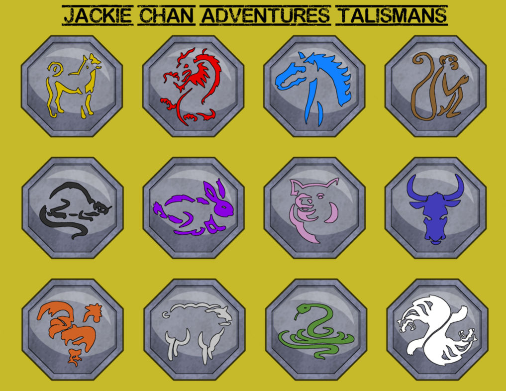 Jackie Chan Adventures Talismans By Leo Alostcause