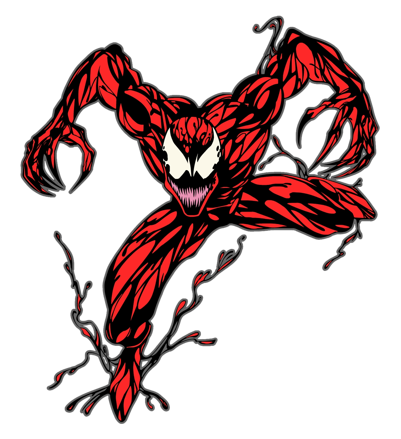 carnage jaden s adventures wiki fandom powered by wikia Classic Spider-Man Logo Classic Spider-Man Logo