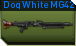 Dog white mg42 e icon