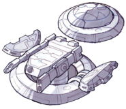 Turbo cannon concept art