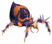 Ghoul spider concept art