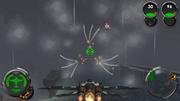 Interceptor firing the Armageddon