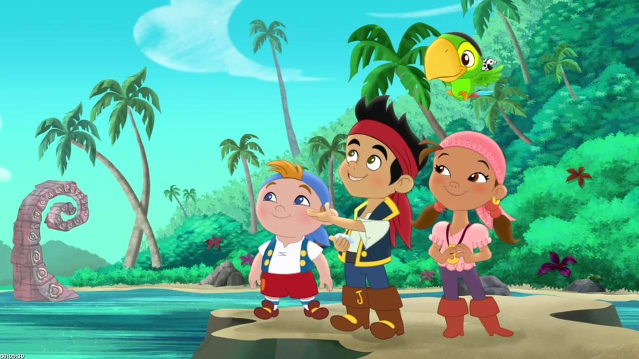 jake and the neverland pirates background island