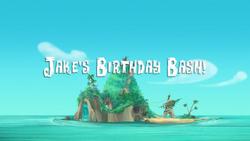 Jake's Birthday Bash! titlecard