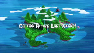 Captain Hook's Last Stand! title card