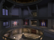 Embassy atrium lobby (Agent Under Fire)