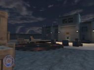 Embassy helipad (Agent Under Fire)