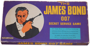 The James Bond 007 Secret Service Game (box)