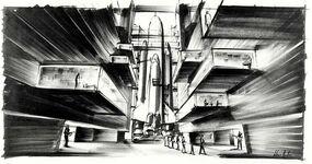 Ken Adam - Moonraker Shuttle