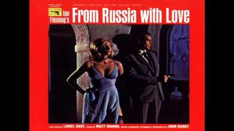 Video - James Bond From Russia With Love soundtrack FULL ALBUM | James ...