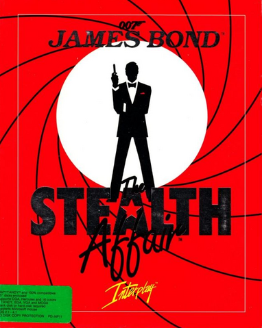 File:James Bond 007 - The Stealth Affair (box art).png