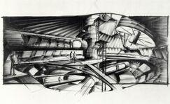 Ken Adam - Moonraker Station