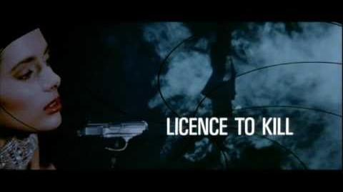 Licence To Kill Opening Title Sequence HD