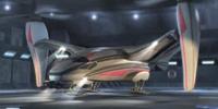Dr. No's tiltrotor aircraft