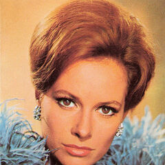 Promotional photograph of Luciana Paluzzi as Fiona Volpe.