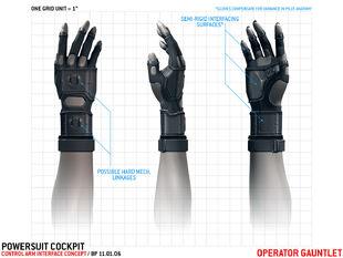 AMP Suit Operator Gauntlet